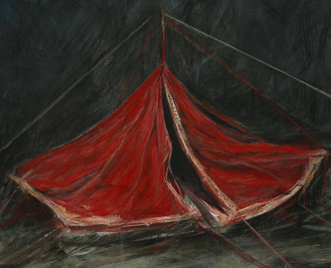 acrylique sur toile, 22x27cm, 2016