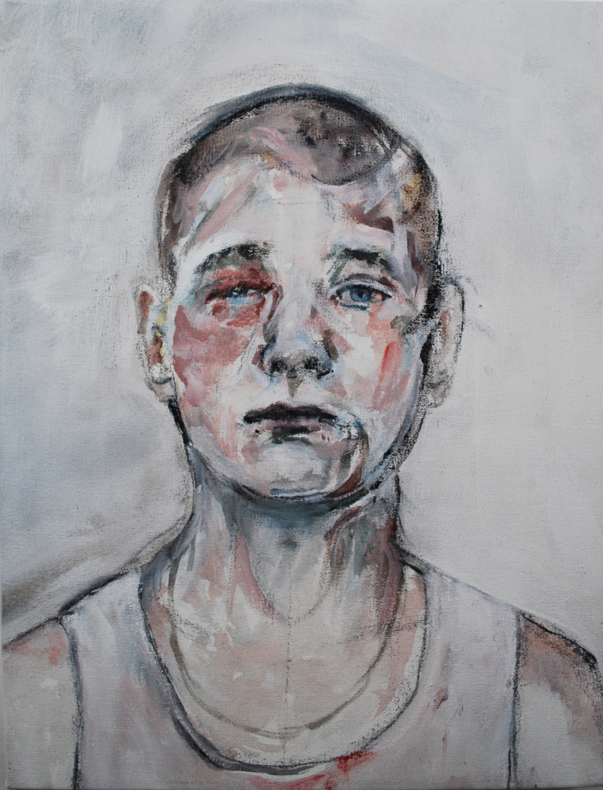 RIVAL, 2016, acrylique sur toile, 35 x 27 cm