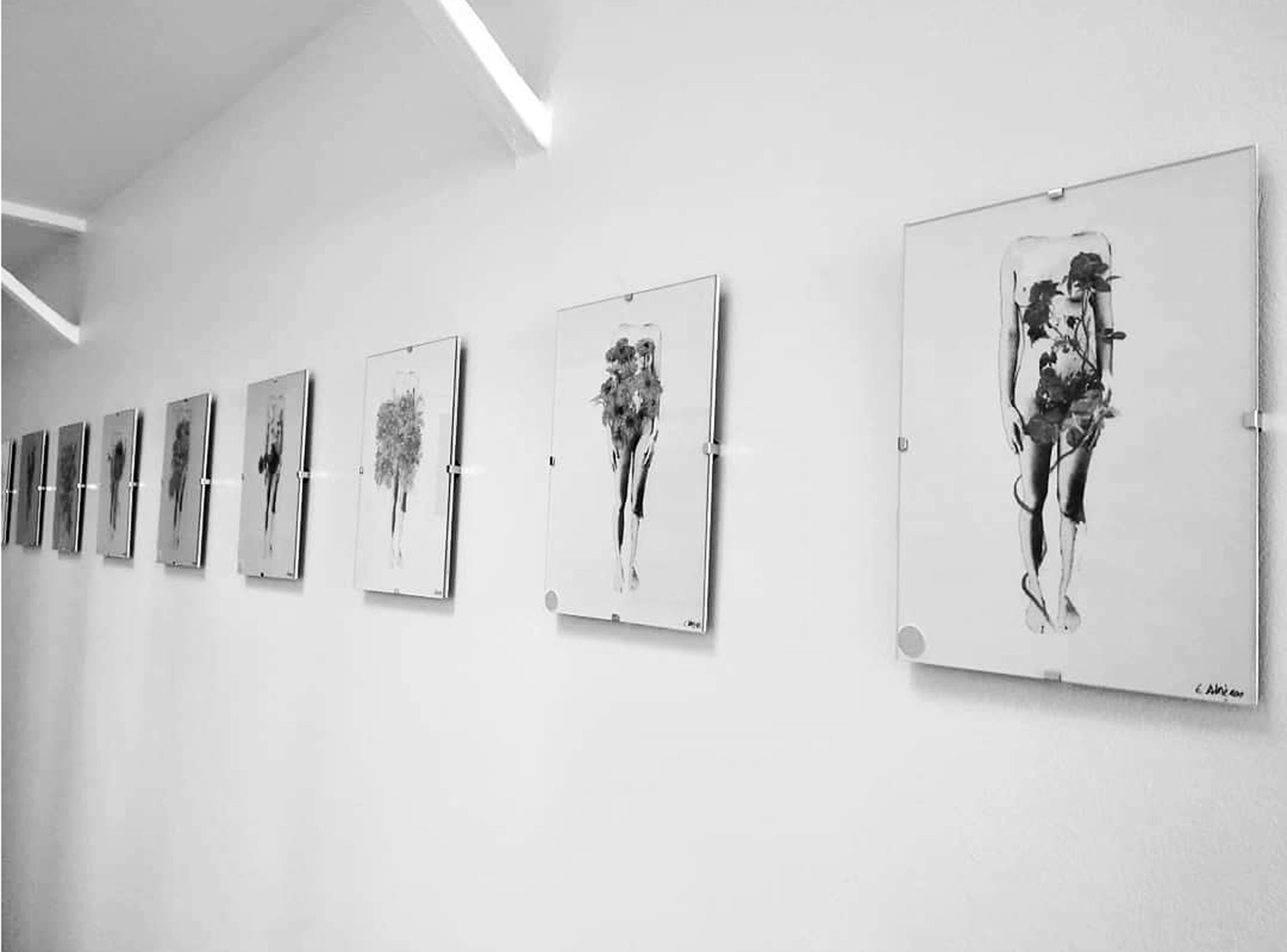 Vue d'exposition, 2020 ©Alméras